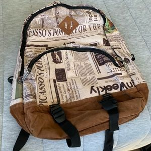 66c7b2f18 Other - Newspaper Design Backpack